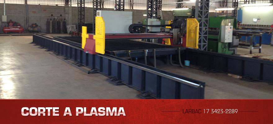 Corte de plasma CNC