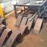 Corte e Dobra de Chapa de Aço