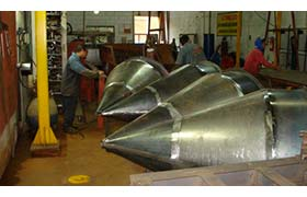 Fabricantes para ciclones industriais